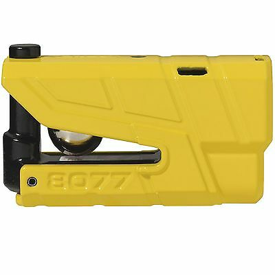 Abus Granit Detecto X-Plus Motorcycle / Bike / MC Disc Lock - Yellow