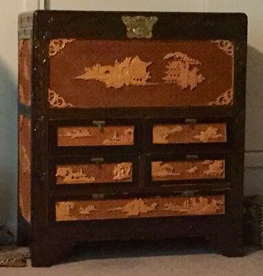Vintage Chinese Camphor Storage Blanket Chest