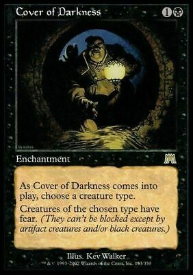 Cover of Darkness ~ Onslaught ~ Excellent+ ~ Magic The Gathering