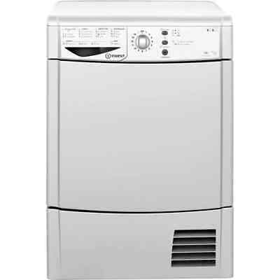 Indesit IDCL85BHS Eco Time 8Kg Condenser Tumble Dryer Silver New from AO