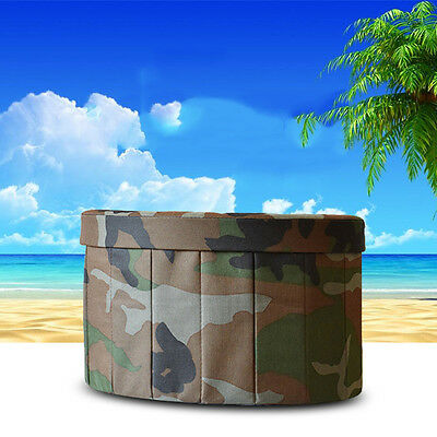 Portable Multifunction Camping Large Toilet Car Driving Travel Z16B8 Camouflage