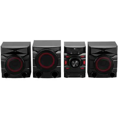 LG CM4560 700 Watt High Power Hi-Fi System Bluetooth Hi-Fi System Black New
