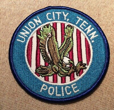 TN Union City Tennessee Police Patch