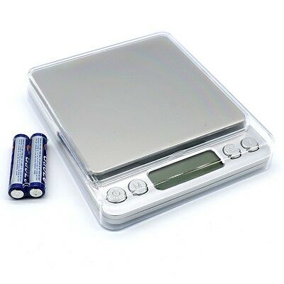 0.01g-500g Electronic Pocket Digital LCD Weighing Scales Food Jewellery UK RLTS