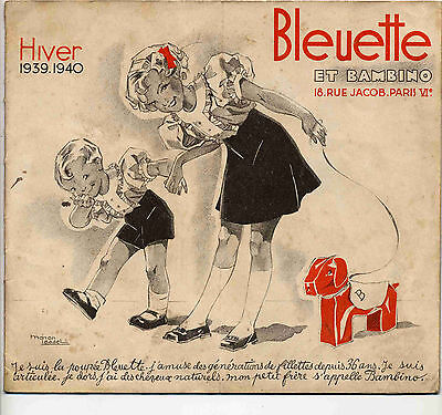 Bleuette Catalogue 1939-40 Manon Iessel Ed. Gautier-Languereau BE