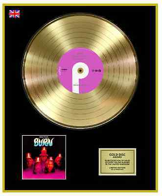 DEEP PURPLE Ltd Edition CD Gold Disc Record BURN