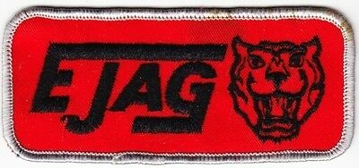 Ejag Jaguar on Red Twill Patch
