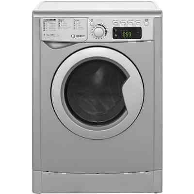 Indesit EWDE7125S My Time Free Standing 7Kg Washer Dryer Silver New from AO
