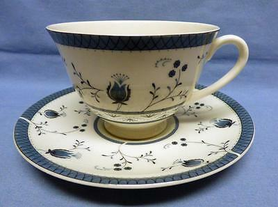 ROYAL DOULTON CAMBRIDGE  Cup&Saucer English Translucent China T.C.1017  Vintage