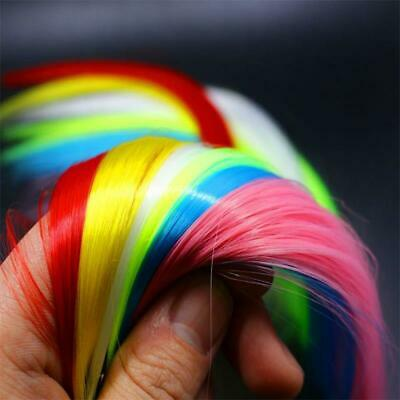 13 Colors, Synthetic Fibre, Super Hair, Fibre, Fly Tying Material, Jig, Lure