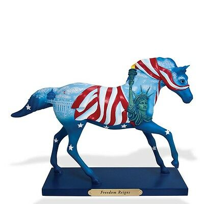 TRAIL OF PAINTED PONIES - Freedom Reigns - Horse Figurine - 1E / 593