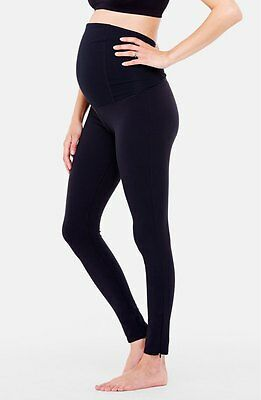 Ingrid & Isabel Active' Maternity Leggings with Crossover Panel Size Small