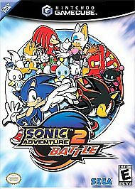 Sonic Adventure 2 Battle (Nintendo GameCube, 2002) Complete in box tested!