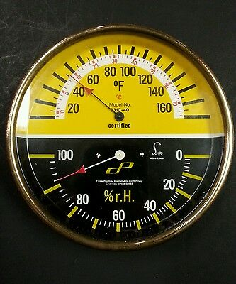 Cole-Parmer Instrument 3310-40 331040 Thermometer / Hygrometer