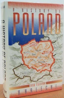 History of Poland by Halecki, Oscar Paperback Book The Cheap Fast Free Post