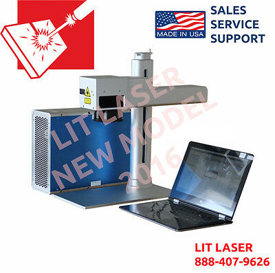 PORTABLE 20Watt LASER MARKING/ ENGRAVING/ CUTTING SYSTEM