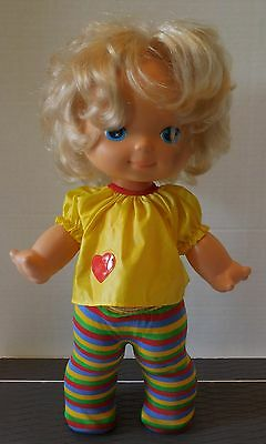 """Vintage CPG PRODUCTS/KENNER 1979 SWEETIE FACE TODDLER 13"""" Doll w/OUTFIT"""