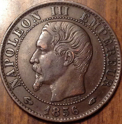 1856 A France 5 Centimes In Superb Condition !