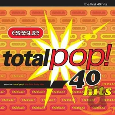 Erasure - Total Pop!: The First 40 Hits - Erasure CD J8VG The Cheap Fast Free