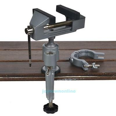 Universal 360° Swivel Table Bench Vice Die Cast Vise Clamp Craft Repair Tool New