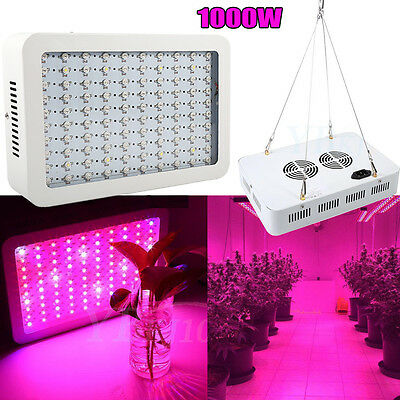1000W Full Spectrum LED Growing Light Indoor For Medical Plants Bloom Hydro hg
