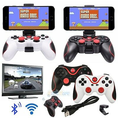 Wireless Bluetooth Gamepad Game Controller Joystick for Android Phone TV Box PC