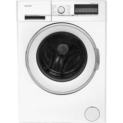 Sharp ES-GFC8144W3 A+++ 8Kg Washing Machine White New from AO