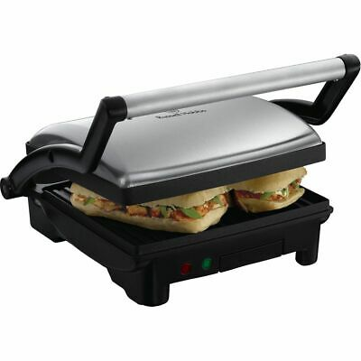 Russell Hobbs 17888 Panini Grill And Griddle Sandwich Toaster Stainless Steel