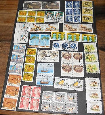 Australian Decimal Joined Stamps (Lot 2)