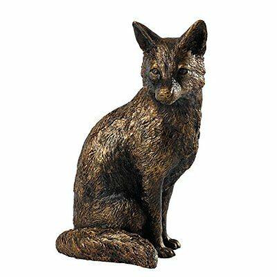 Border Fine Arts studio bronzo Fox figurine