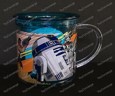 DISNEY Store FUNFILL Cup STAR WARS THE FORCE AWAKENS Meal Time Magic 6 oz NWT