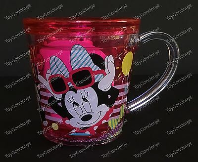 DISNEY Store FUNFILL Cup MINNIE MOUSE Meal Time Magic 6 oz NWT