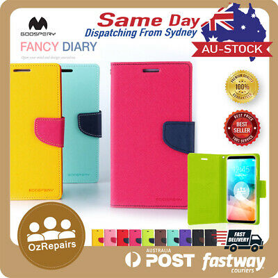 Galaxy S9 S7 S8 Plus S10 Case Wallet Leather Goospery Fancy Diary For Samsung