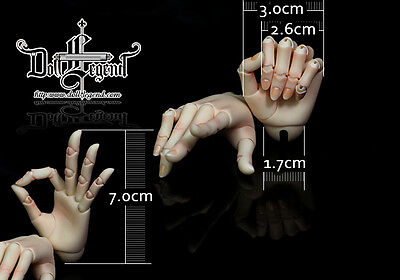 jointed hands in STOCK DF-H Doll for 60cm boy doll SD 1/3 size bjd use