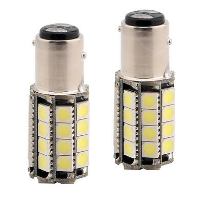 50X 1157 BAY15D 36 SMD 5050 LED Car Turn Tail Brake Stop Backup Signal Light