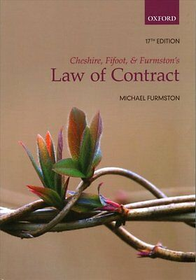 Cheshire, Fifoot, and Furmston's Law of Contract by Mp Furmston (Paperback,...