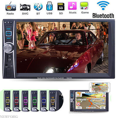 6.6'' HD Car MP4 MP5 Player Stereo Radio FM USB AUX Bluetooth Head Unit Android