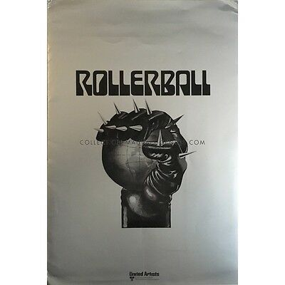 ROLLERBALL Presskit 9x12 in.  - 10 LC 1975 - Norman Jewinson, James Caan