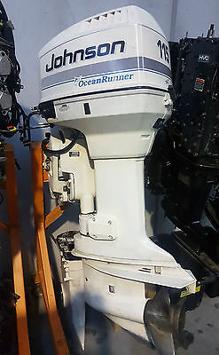 Evinrude Johnson 115hp 25in outboard engine running complete repower