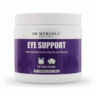 Dr Mercola Eye Support for  Pet Dogs & Cats with Lutein Zeaxanthin