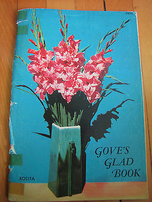 Gove's Glad Book, Gladiolus Catalog 1952 Garden Seed Flowers