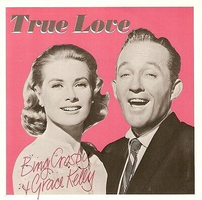 BING CROSBY AND GRACE KELLY True Love Vinyl Record 7 Inch Capitol CL 315 1983 EX