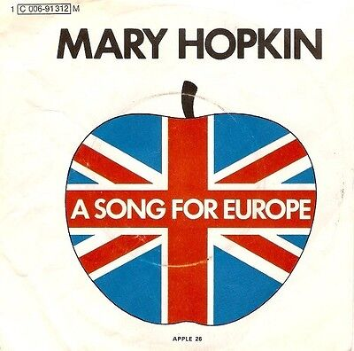 MARY HOPKIN Knock, Knock Who's There 7 Inch German Apple 1 C 006-91 312 M 1970