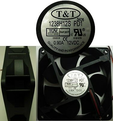 """4.7*1.5""""inch 120mm*38mm 12VDC/12V/9V T&T Cooling Fan/Blower 2wire 9in""""tinned end"""
