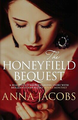 The Honeyfield Bequest by Anna Jacobs, Brand New Book, Paperback