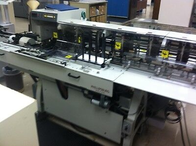Bell & Howell VIP Inserting System with a GBR 438 Sheet Feeder Folder