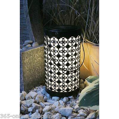 Oriental Style Chinese Hanging Solar Powered LED Garden Candle Lantern Table New