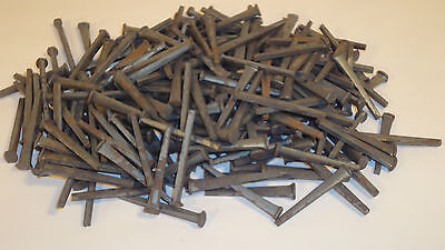 "Vintage Lot Over 210 Piece's Of 1 1/2 ""  Flat Head Nails"