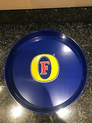 Fosters Lager Plastic Serving Tray Pub Shed Bar Man Cave
