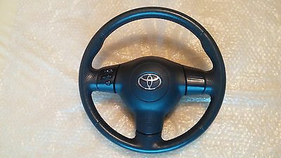Toyota Corolla T Sport Leather Steering Wheel with Airbag